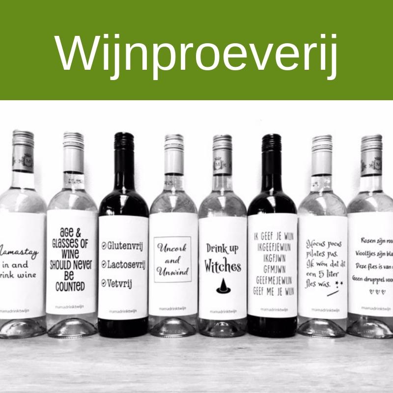 Wijnproeverij op vrijdag 1 januari a.s.